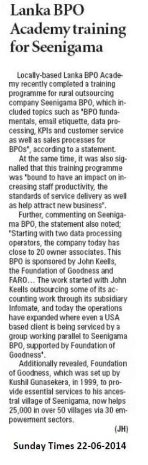 BPO Sunday Times 22.06.2014