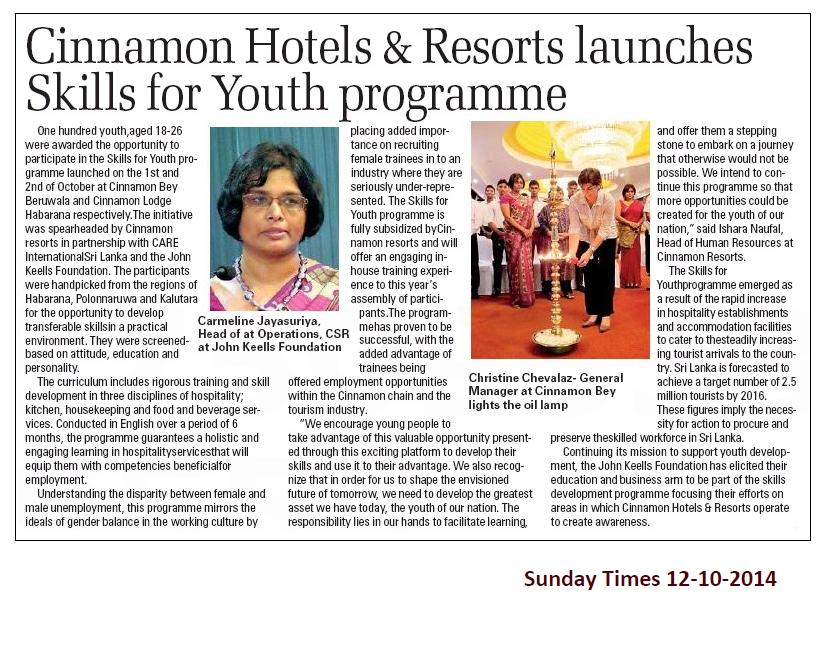 Sunday Times - SFY 12th Oct
