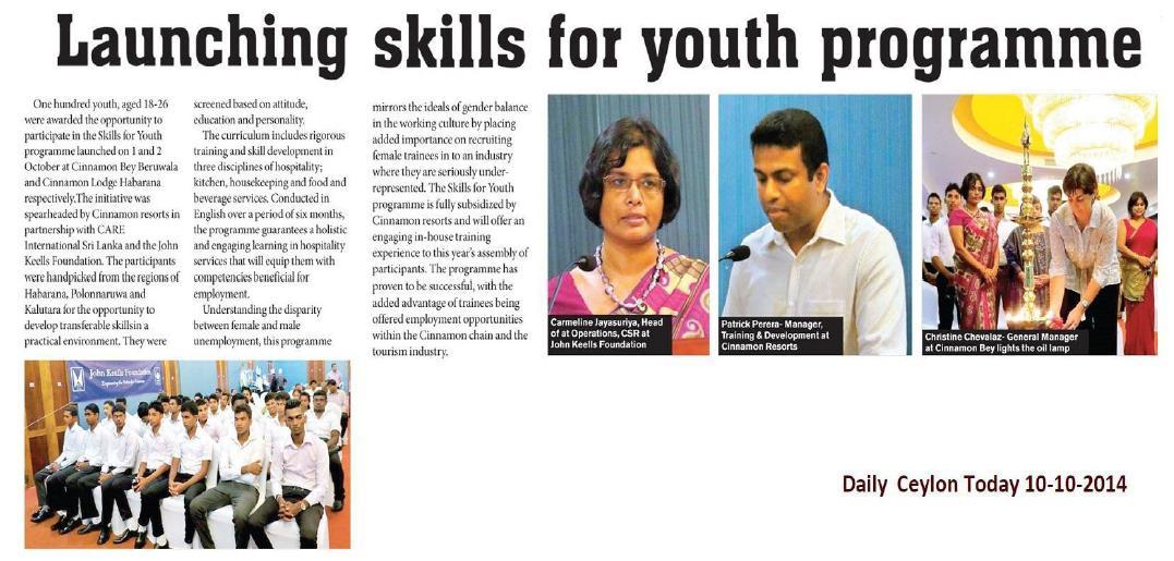 Vision Ceylon  Today 10.10.2014