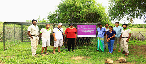 John Keells Foundation donates cattle pens to farmers