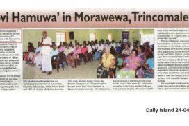 Govi Hamuwa in Morawewa, Trincomalee