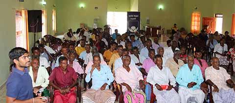 John Keells Foundation organized a 'Govi Hamuwa' in Morawewa, Trincomalee