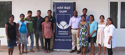 John Keells Foundation successfully conducted a leadership development programme for the Jaffna, Seenigama and Mahavilachchiya BPOs
