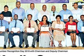 Volunteer recognition day 2018